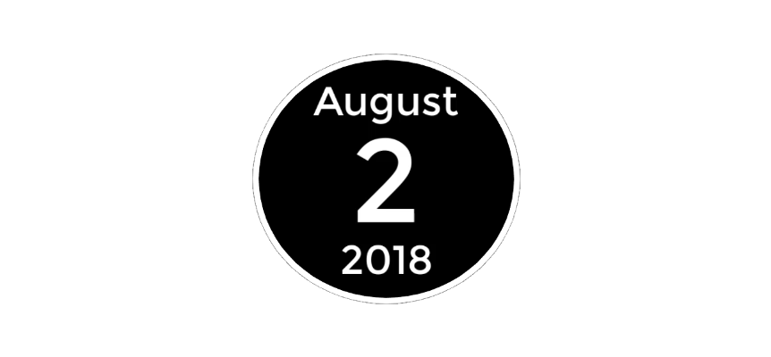August 2 2018