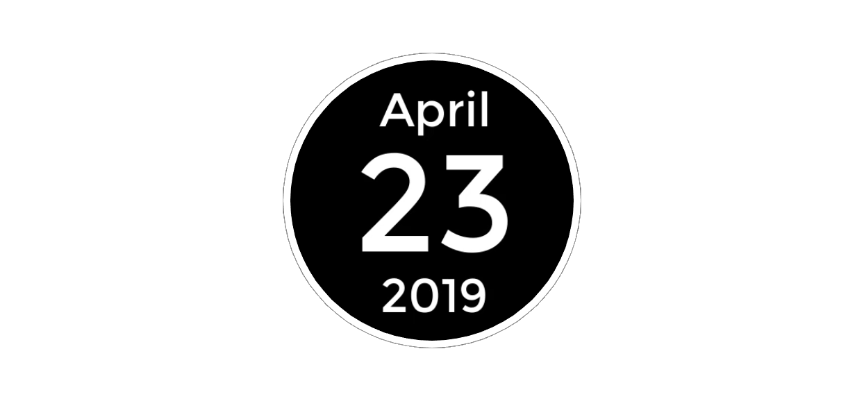 april 23 2019
