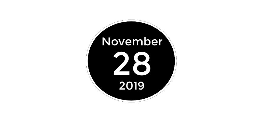 november 28 2019