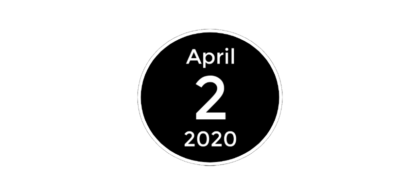 April 2 2020