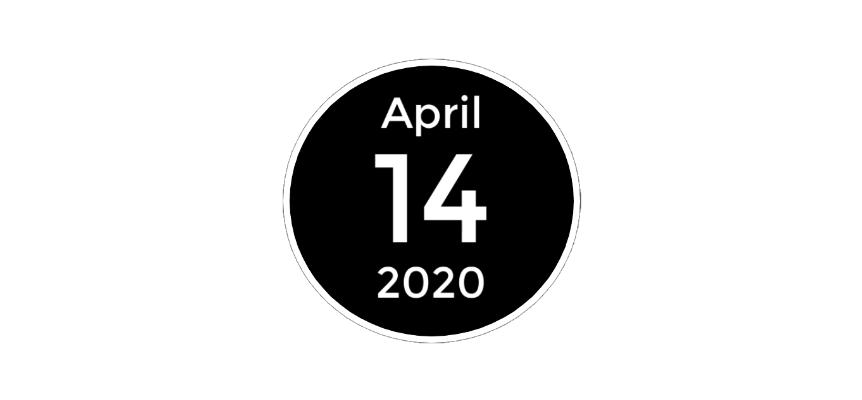 April 14 2020